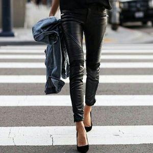 Blank NYC Vegan Leather Moto Pants